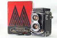 【 NEAR MINT in BOX】 Minolta Autocord TLR Camera Rokkor 75mm f3.5 Lens From JAPAN
