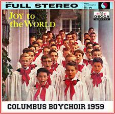 The Columbus Boychoir Joy to the World 1959 Featuring Four Boy Soprano Soloists