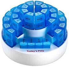 MEDca Monthly Pill Box Case Organizer Prescription Daily