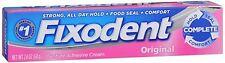 Fixodent Denture Adhesive Cream 2.40 oz