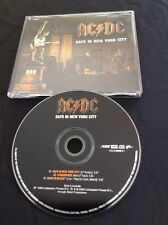 AC/DC SAFE IN NEW YORK CITY CD AUSTRALIA  AUSSIE ALBERT PRODUCTIONS 724388900621