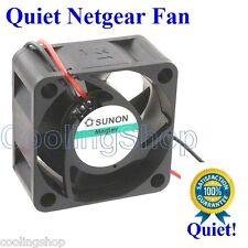 Quiet! Netgear JGS516 FAN (New Sunon Fan, 9dBA Noise Level vs 29dBA stock fan)