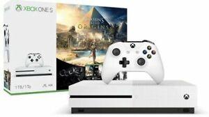 Microsoft Xbox One S Assassin's Creed Origins 500GB Console - Bianca