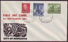 1947 NEWCASTLE ON SMYTH FIRST DAY COVER UNADDRESSED (RU1292)