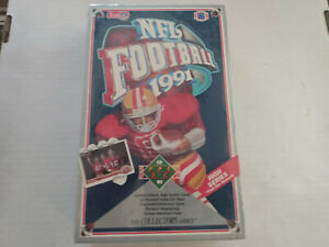1991 Upper Deck NFL Football Cards High Series - Full Sealed Box x36 packs