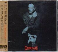 Billy Sheehan Compression JAPAN CD with OBI 1 Bonus Track ZACB-1050