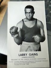 More details for larry  gains  -  canadian  boxer  -   photo