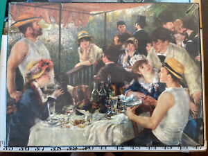 The Luncheon Of The Boating Party - Renoir - Wall Hanging/poster - Athena