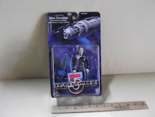 "Babylon 5 John Sheridan 6""in Action Figure w/Babylon 5 Space Station Wb 1997"