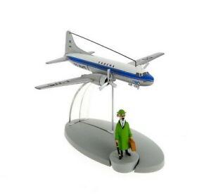"""Flugzeug mit Professor Bienlein / Tim & Struppi / """"Fall Bienlein"""" / Sabena / Neu"""