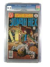 Jonah Hex #1 1977 9.2 [CGC Graded] Micheal Fleisher, Jose Luis Garcia-Lopez - DC