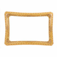 Inflatable Gold Picture Frame - Selfie Photo Prop Blow Up Party Pool Photobooth