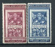 VATICANO 1951 MONACO GRAZIANO P.A SERIE COMPLETA MLH* SASSONE S504