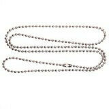 Stainless Steel Ball Chain 30 Inches 2.4mm for Military Dog Tags