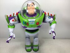 Toy Story Buzz Lightyear Disney Thinkway Talking Electronic Action Figure 12""
