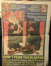NME JAN 18TH 1992 NIRVANA CRASH INTO EUROPE PRODIGY PUBLIC ENEMY ANTHRAX EX