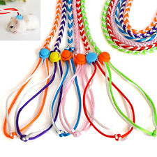 Small Animal Hamster Harness Leash Lead Rope Ferret Mouse Rat Collar Glider  UK