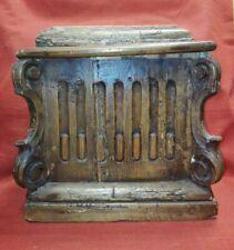 Mensola del '700 da restaurare cm 28,5x31x17 Antikidea