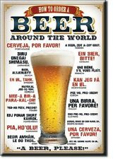 """How to order a Beer Around the World Miniature   2"""" X 3"""" Sign Magnet"""
