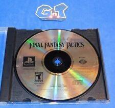 FINAL FANTASY TACTICS Playstation 1 PS1, Disc Only, No Manual