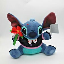 Disney Lilo and Stitch 626 stitch with Flower Wedding Plush Doll Toy Gift