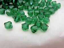 Swarovski Vintage ART 5301 green tourmaline 6mm  72 bead count