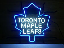 "New Toronto maple leafs Neon Light Sign 17""X14"" Fast Ship"