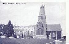Gloucestershire Postcard - Minchinhampton Church - Ref ZZ4690