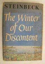 "First Edition of ""The Winter Of Our Discontent"" by John Steinbeck"