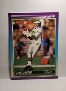 1990 Score Cris Carter Philadelphia Eagles No.193