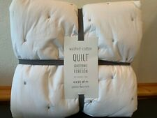 West Elm x pbk Organic Washed Cotton Quilt Twin