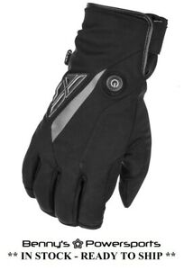 Men's Fly Title Heated Gloves Snowmobile Waterproof Windproof Insulated Snow