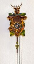 Vintage 1950s Cuckoo Clock, Made in Germany, Regula, 1 Day