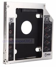 2nd Hard Drive HDD SSD Caddy Adapter for Sony Vaio VPCF12M1E VPCF11M1E VPCF23B9E