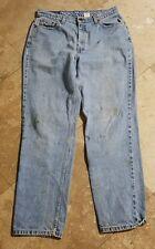 Levis 512 31x30 Light Wash Red Label Jeans Pants Women's 14 Reg