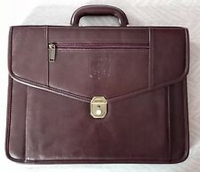 Executive briefcase FERRARI. Made of leather. Original. EXCELLENT CONDITION. NOS