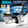2x 9006 9005 BH3 BH4 LED 120W 12000LM Combo Headlight High 6500K Car Kit Bulbs