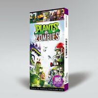 Plants VS Zombies PVZ Postcard 30pcs Postcards +120pcs Stickers Kids Gift