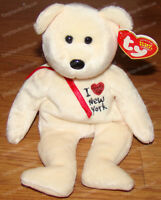 New York State Exclusive (Ty Beanie Babies) July 26, 2003, P.E. Pellets
