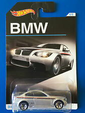 2016 Hot Wheels 100 YEARS OF BMW - 2010 BMW M3 LUXURY SPORTS mint on long card!