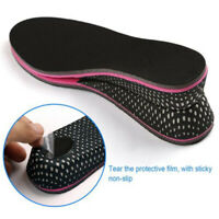 Men Women Shoe Lift Height Increase Insoles Memory Foam Pad Heel Inserts Taller