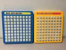 Magic Math Machine, Multiplication and Division Push Button Educational