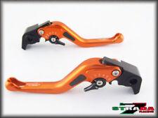 Manetas de freno naranjas para motos Triumph