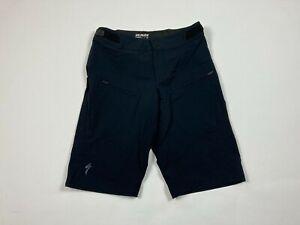 Men's Specialized Non-Padded Cycling Shorts Sz 32 Athletic Black Enduro Pro #677