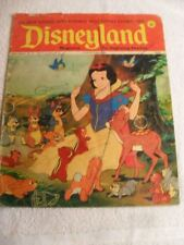 RARE DisneyLand Magazine for Beginning Readers Snow White Edition No. 10 1972 [P