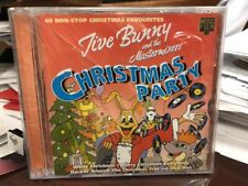 Jive Bunny & the Mastermixers CHRISTMAS PARTY CD 2000 MUSIC CLUB MCCDX014 NEW