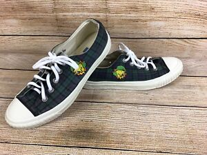 Vintage Keds Shoes Womens Looney Tunes Tweety Bird 90s Plaid Sneakers Size 9.5
