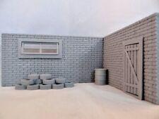 NEW Kindertoys Diorama Garage in Scale 1:43 Unpainted , Door / Window Openable