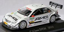 Mercedes Benz C-Class DTM 2010 #7 Di Resta AMG weiss white 1:43