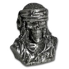 15 oz Silver Bust - MK Barz & Bullion (Limited Edition, Pirate) - SKU #117602